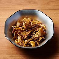 Japanese style marinade of mushroom