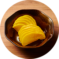 Takuan, pickled radish